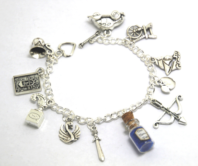 e2ea63683 12pcs NEW Once Upon a Time charm bracelets including Once Upon a Time Magic  Storybrooke Enchanted
