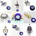Azul Evil Eye charme sorte de proteção amuleto decoração de parede decoração frete grátis