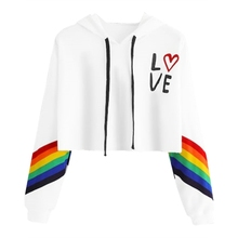 2019 Autumn Fashion Rainbow Striped Letter Print Women Hoodie Sweatshirt Female Long Sleeve Pullover Sweatshirt Ladies Crop Tops цена и фото