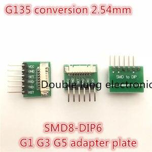 O adaptador 8Pin 1.25 milímetros para PM2.5 sensor PMS1003 PMS3003 PMS5003 G135 a 2.54mm 1x4Pin