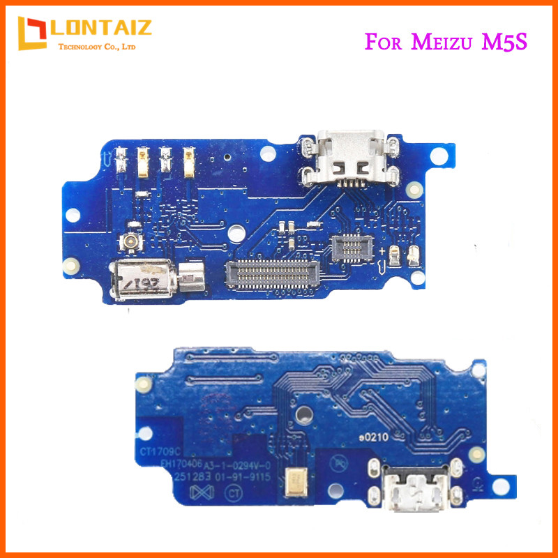 For Meizu M5s New Micro Dock Connector Board USB Charging Port Flex Cable Repair Parts