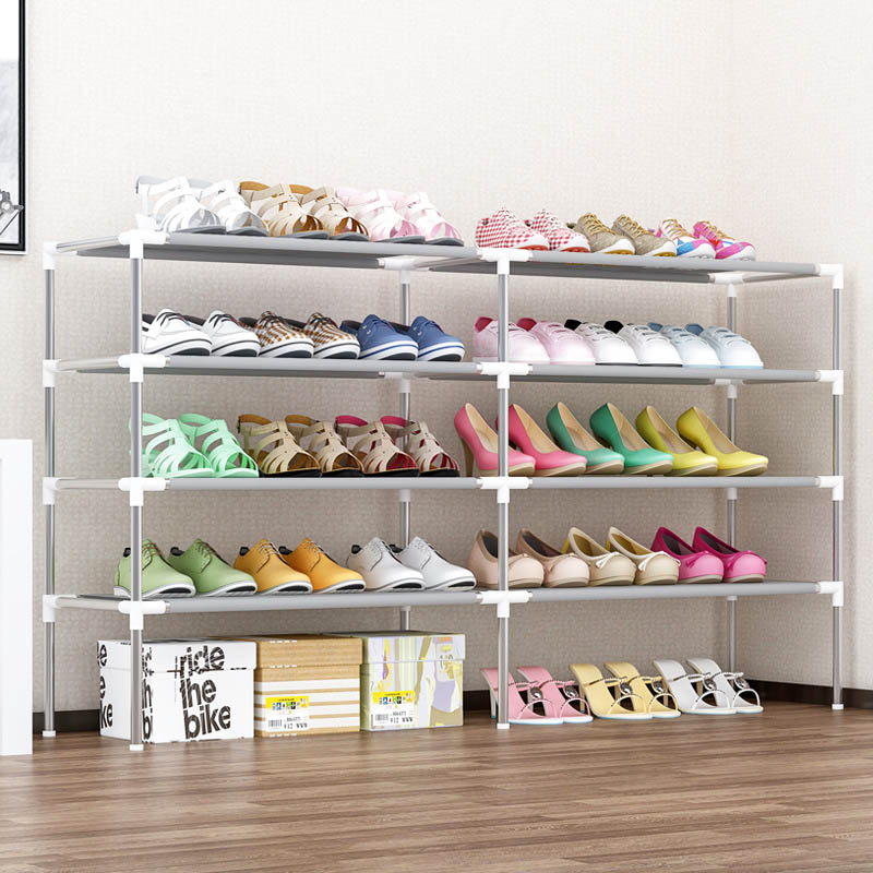 Simple Shoe Rack Multi-layer Household Storage Shoe Cabinet Living room assembly Dustproof Shoe Rack Storage FurnitureSimple Shoe Rack Multi-layer Household Storage Shoe Cabinet Living room assembly Dustproof Shoe Rack Storage Furniture