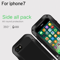 AMOR Original MEI Extrema poweful vida Dropproof de Metal À Prova D' Água Casos de telefone Para O iphone Da Apple 7 4.7 polegadas + retailbox