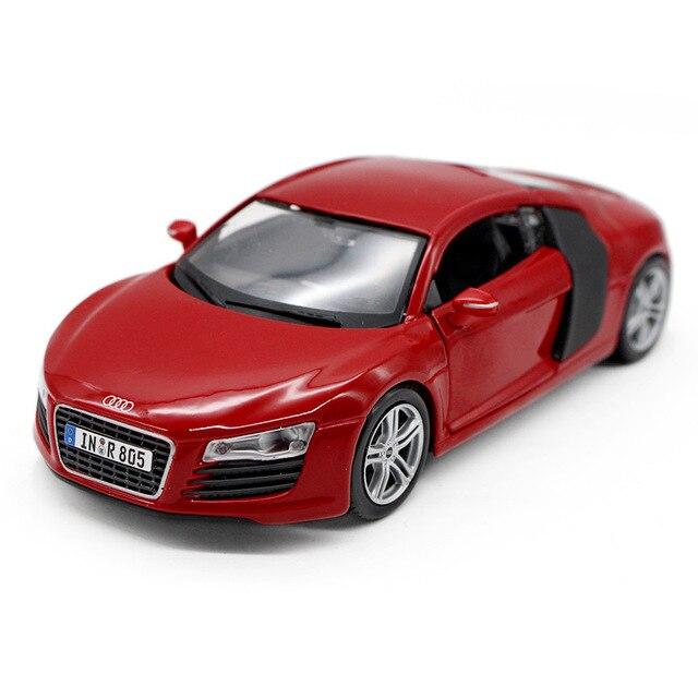 Scale Supercar Model Toys Audi Diecast Metal Car Model Toy