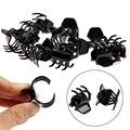 12 Pçs/lote preto Mulheres Meninas mini Garras de Cabelo Styling Plástico Clipe Garra