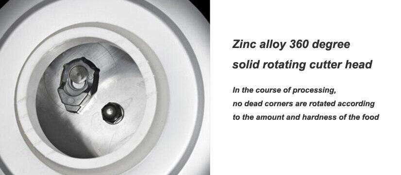8 KG broyeur de déchets alimentaires broyeur de déchets alimentaires broyeur en acier inoxydable matériel de cuisine évier appareil - 5