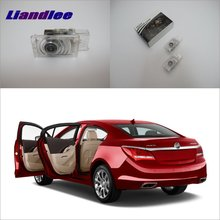 Liandlee Car Door Ghost Shadow Lights For Buick LaCrosse 2012~2013 Courtesy Doors Lamp / Brand Logo LED Projector Welcome Light 2x canbus led car door logo welcome light ghost shadow projection emblem lights for seat alhambra n7 2011 2012 2013 2014