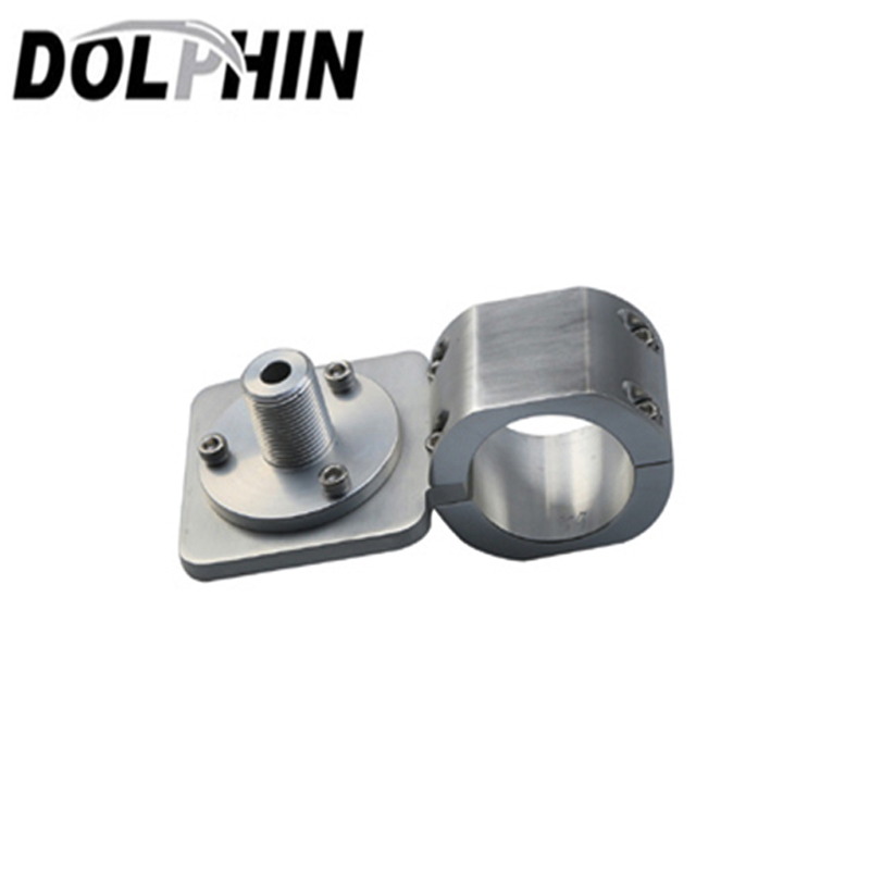 Dolphin Boat T Top Antenna & Light Bracket, Anodised