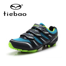 Tiebao Professional MTB Cycling Shoes Outdoor Athletic Racing Bike Shoes AutoLock/SelfLock Bicycle Shoes SPD Cleated Bike Shoes
