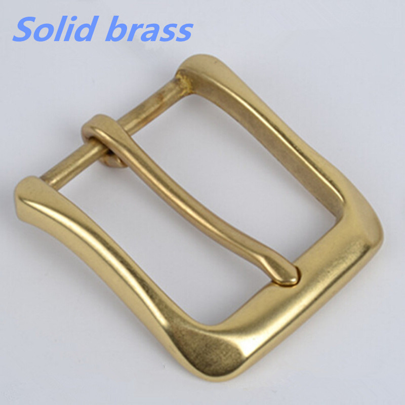 Retail 2016 Newest High quality Solid brass Fashion Men's Belt Buckles fit 4cm1.57in Wide Belt Classic Mens Jeans accessories