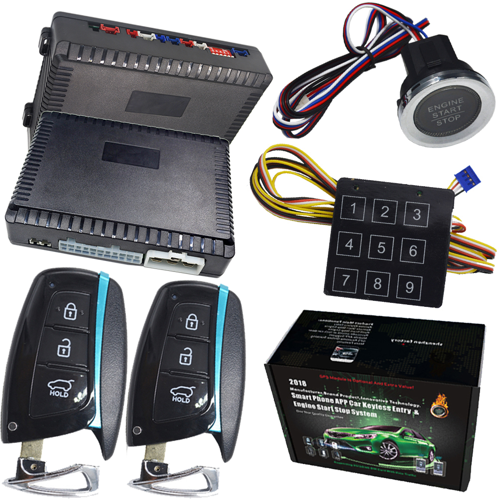 passive keyless entry anti theft pke auto lock unlock 12v cars car alarm cardot pke passive keyless entry