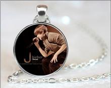 hot Star Bright Justin Bieber Necklaces Pendants Fans Favorite Brand Star Colares Femininos Collares 2015