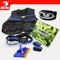 Skull Mask Tactical Equipment New Set Of EKIND Kit For Nerf N Strike Elite Gun Game