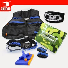 Skull Mask Tactical Equipment New Set of EKIND kit For Nerf N-strike Elite Gun Game