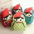 Gift for Baby Kids 1pc 30cm Cartoon Dolls Plush Doll Canvas Backpack Shoulder Bag Satchel Boy Girl Toy School Bag N4