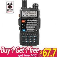 Baofeng RD 5R DMR Tier II VFO Digital Dual Band Dual Slot 136 174/400 470MHz Two way Radio Walkie Talkie Ham Transceiver