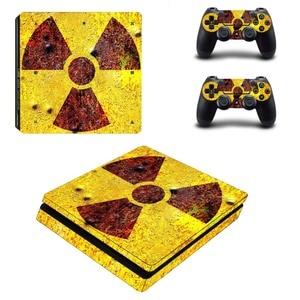 Image 4 - Biohazard guarda chuva mal ps4 magro adesivo de pele decalque vinil para sony playstation 4 console & controladores ps4 magro adesivo de pele