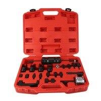 23 PCS/Set Fuel Injector Puller Set Professional Remover Tool Universal Disassemble Assemble Repair Kit Vehicle Hand Tools