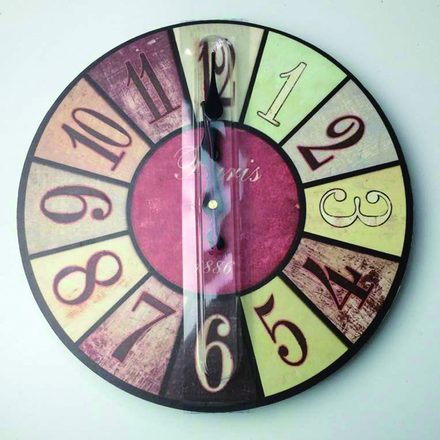 WONZOM Eiffel Tower Design Large Wall Clock Silent Living Room Wall Decor Saat Home Decoration Watch Wall Gift Reloj 2017