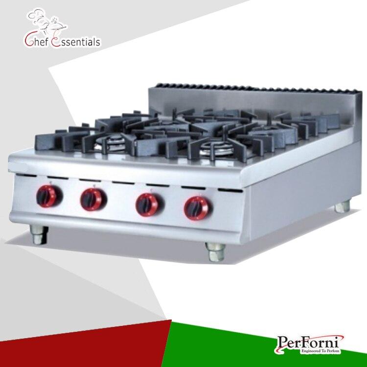 PKJG-GH787.1 4 Burner Gas Range for business kitchen gh2 gas range with 2 burner for commercial use