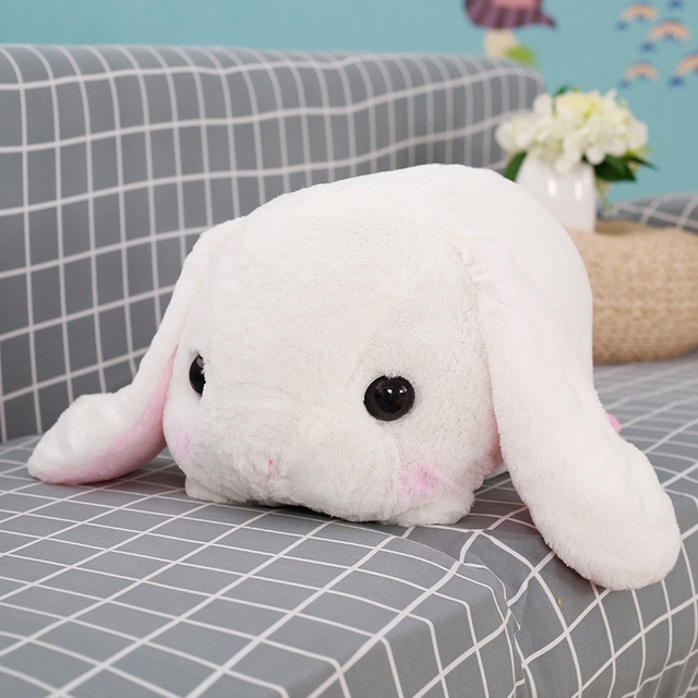 Rabbit Dolls Plush Classical Lying Bunny Rabbit Toy Amuse Lolita Loppy rabbit Kawaii Plush Pillow for Kids Friend Girls 4