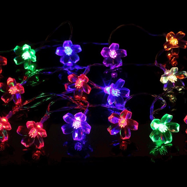 Battery powered fairy string lights 10 led wedding garden outdoor battery powered fairy string lights 10 led wedding garden outdoor christmas blossom decorative garden lawn patio mozeypictures Gallery