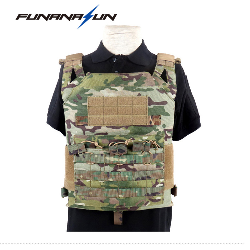 Tactical Military Waistcoat Combat Assault Plate Carrier Vest JPC Ammo Magazine Chest Rig Cs Game Tactical Body Armor Clothes tactical jpc plate carrier vest ammo magazine body armor rig airsoft paintball gear loading bear system army hunting clothes