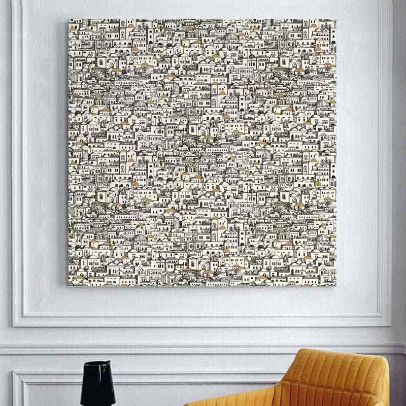 شحن مجاني كوادروس الديكور Fornaseti فرملس لوحات خمر الحديثة الرجعية الهدايا جدار الفن يقتبس ديكور غرفة نوم
