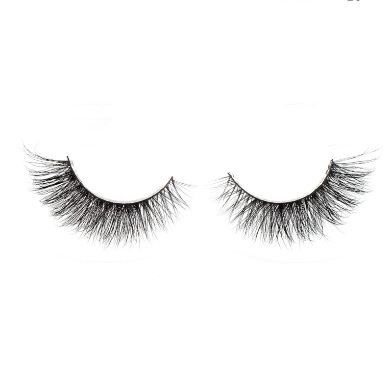 Women Beauty Eye Makeups 1Pair Lashes Natural False Eyelashes Makeup 3d Mink Lashes Eyelash Extension real mink strip eyelashes