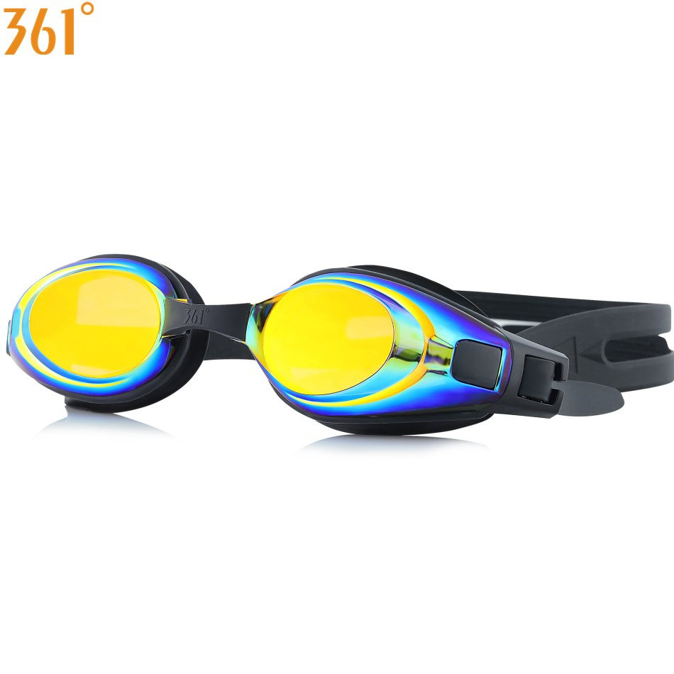 361 Degree Adult Pool Anti Fog Prescription Myopia Swimming Goggles And Mirrored Professional Swim Glasses 9