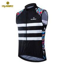 Велосипедный жилет трикотаж для мужчин гоночный велосипед Светоотражающая велосипедная одежда Maillot Ciclismo без рукавов MTB велосипед жилет ветрозащитная куртка