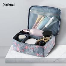 купить Zipper Makeup bag Waterproof Portable Makeup Organizer Bag Cosmetic beauty Case Make Up Organizer Toiletry bag Storage kits по цене 846.71 рублей