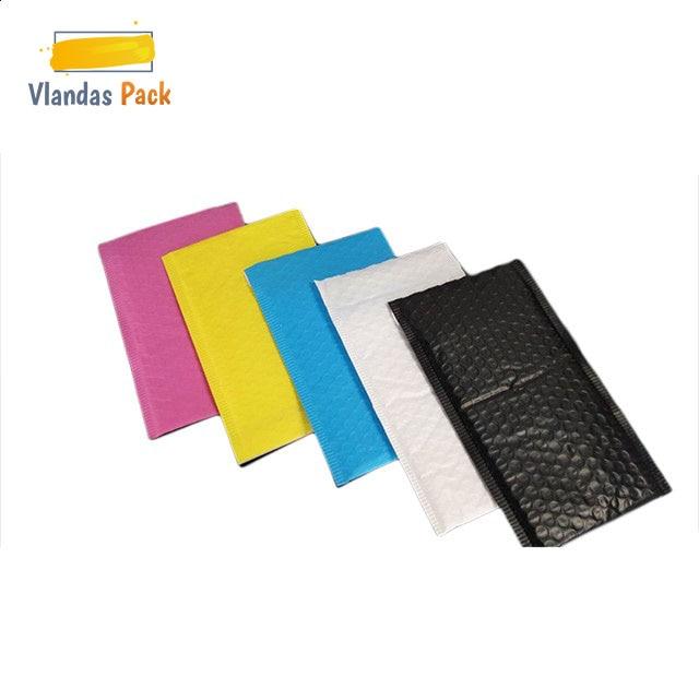 Разноцветная экструдированная пленка Почтовый Конверт Bag Bubble mail Packaging Shipping Bag JB06005-09