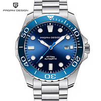 PAGANI DESIGN Bule Dial Automatic Men Watches 1632 Fashion Casual Seagull Mechanical Wristwatch men Waterproof Male Timepieces