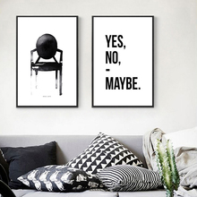 8 Colors HD Print Nordic Style Simple Home Decor Canvas Painting Black And White Figure Letters Poster Living Room Wall Art