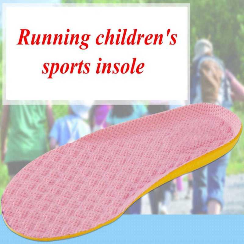 Детские стельки наивысшего качества подушки амортизацией удобные антибактериальные плесень дышащая стелька Спорт на открытом воздухе ED-2
