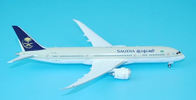 New JC Wings 1: 400 Saudi Arabian Airlines B787-9 HZ-ARA XX4672 Alloy aircraft model Favorites Model new phoenix 11207 b777 300er pk gii 1 400 skyteam aviation indonesia commercial jetliners plane model hobby