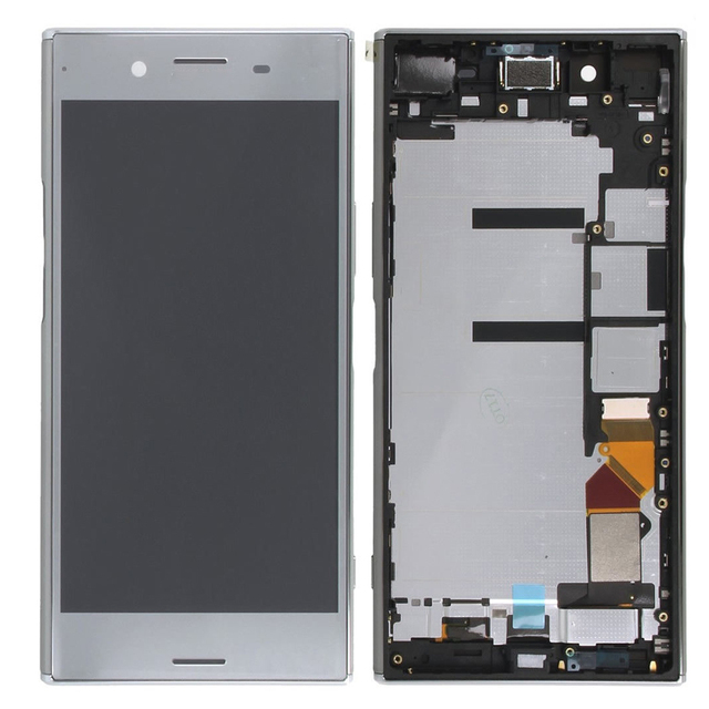 "Sinbeda 5.46"" IPS Display For SONY Xperia XZ Premium LCD Touch Screen Digitizer Assembly Frame For Sony XZ Plus LCD G8142 G8141"