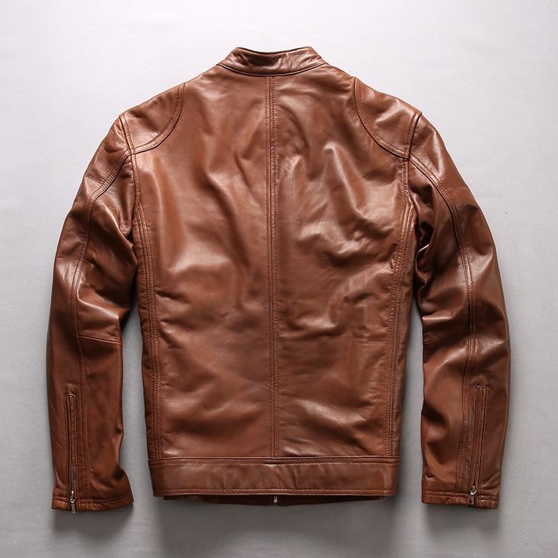 varm försäljning ko läderkläder man över storlek äkta kohid - Herrkläder - Foto 3