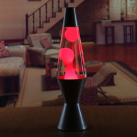 2017 Arrival New Creative Metal Decoration Night Light Lava Lamp Volcanic Melt Wax Base Light Lava