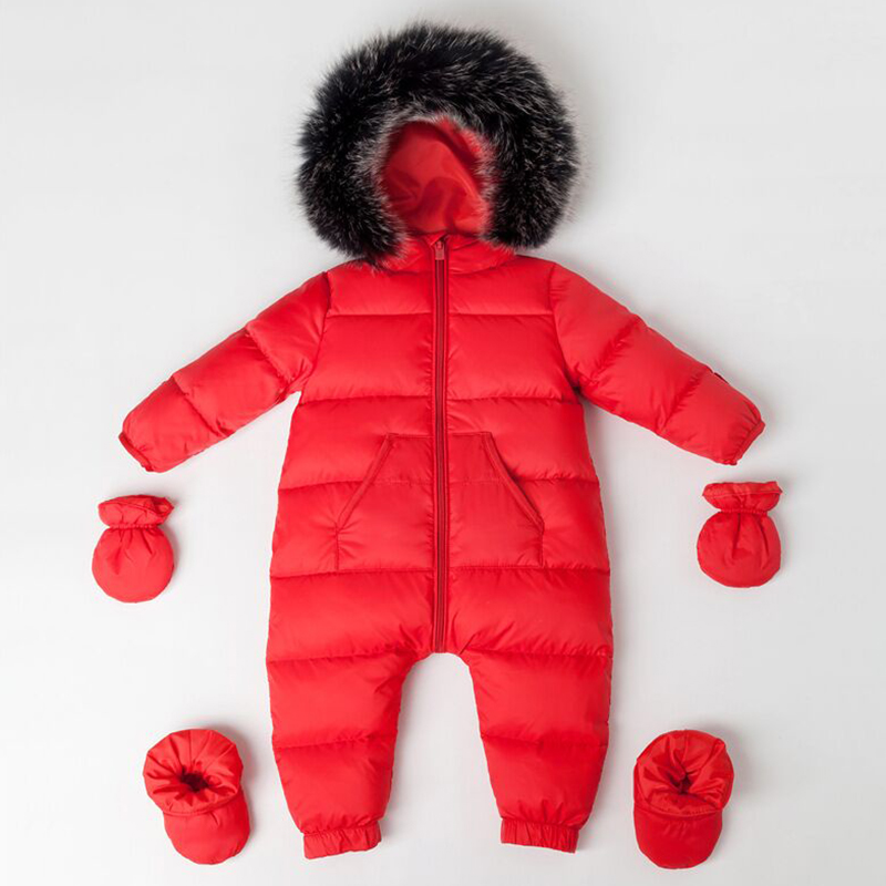 97f5e2c0331f baby winter clothing newborn snow wear bebe overalls warm snowsuit ...
