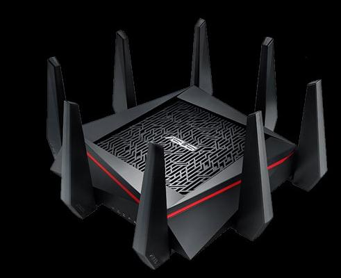 ASUS RT-AC5300 5334Mbps Wireless Router AC5300 Gaming Router Tri-Band MU-MIMO Gigabit Wifi Repeater Router цена и фото