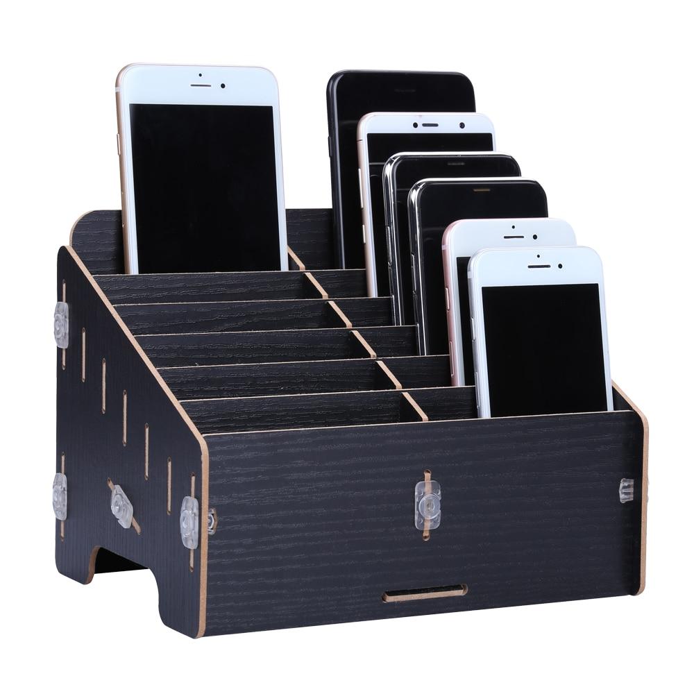 Multifunctional Wooden Storage Box Mobile Phone LCD Screen Motherboard Repair Tool Box Herramientas Ferramentas