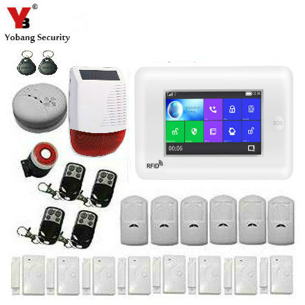 Back To Search Resultssecurity & Protection Useful Yobangsecurity Wireless Wifi Gsm Sms Rfid Home Burglar Security Alarm System With Touch Screen Keypad Auto Dial Wireless Siren By Scientific Process