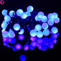 5M led string lights with 40led ball EU AC220V holiday decoration lamp Festival Christmas lights outdoor lighting xmas Garlands