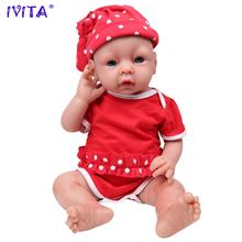 IVITA WG1506 51 см (20 «) 3,2 кг силиконовые Reborn Baby реалистичный малыш реалистичный младенец игрушка для раннего развития имитация для детей