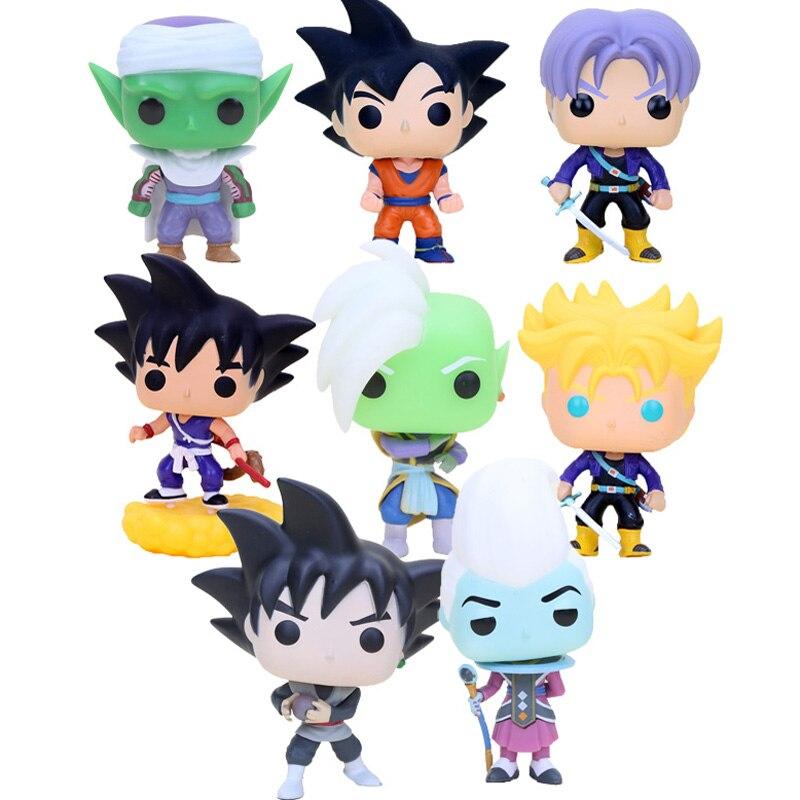 Anime Dragon Ball Z Super Saiyan Vegeta Trunks Gohan piccolo cell Doll Action Figures Dragonball Figurine Collection Model Toy figurine
