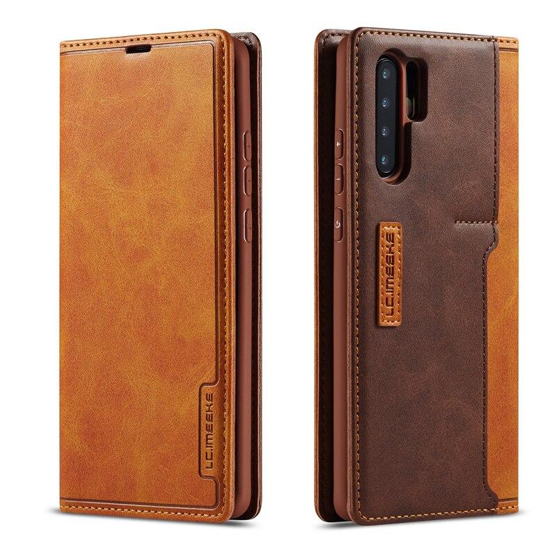 Fundas pour Huawei P30 Pro étui en cuir Flip Book portefeuille support téléphone étui pour Huawei P30 Lite couverture P30 P 30 carte Slot sac Coque