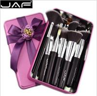 JAF Brand Vegan 24 Pcs Professional Makeup Brushes Very Soft Synthetic Hair Suitable Gift Brush Set