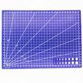 1 PCS A4 Grid Lines Self Healing Cutting Mat Craft Card Fabric Leather Paper Board Handmade Diy Accessory Cutting Plate